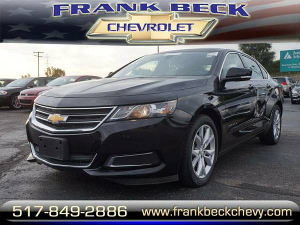 2016 *Chevrolet Impala* LT - Black