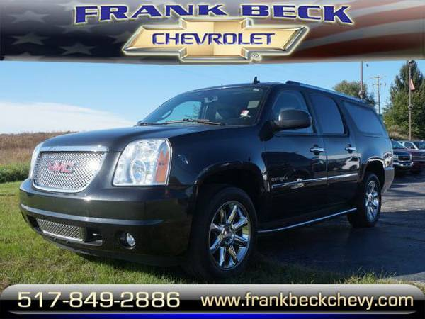 2012 *GMC Yukon XL* DENALI - Black