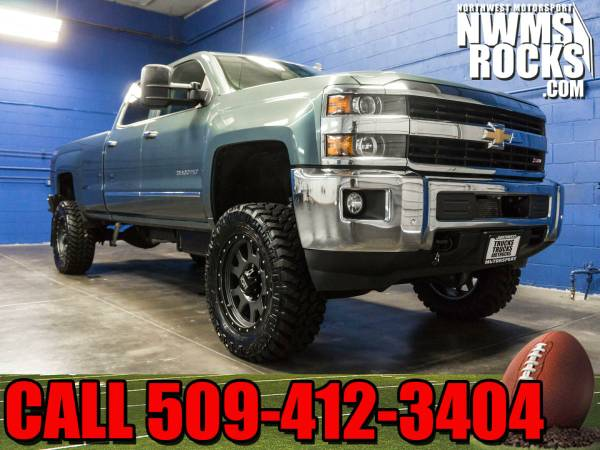 Lifted 2015 *Chevrolet Silverado* 3500 LTZ 4x4 - Towing! 2015 Chevrole