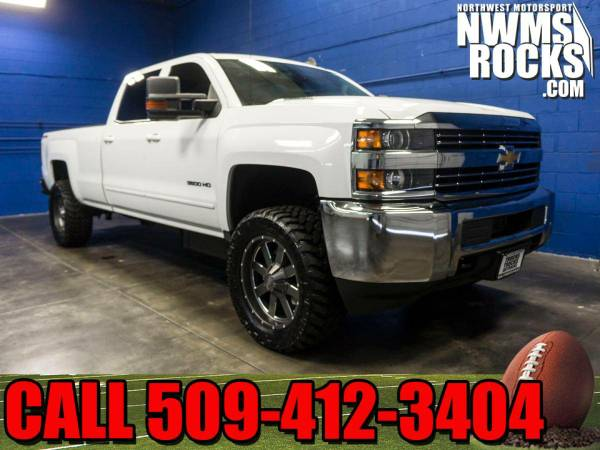 Lifted 2015 *Chevrolet Silverado* 3500 LT 4x4 - CALL TODAY! 2015 Chevr