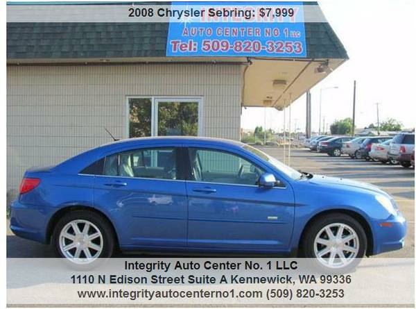 2008 CHRYSLER SEBRING TOURING SIGNATURE SERIES*LOW MILES*ONE OWNER
