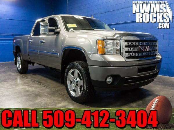 2012 *GMC Sierra* 2500 Denali 4x4 - Rear Backup Camera! 2012 GMC Sierr