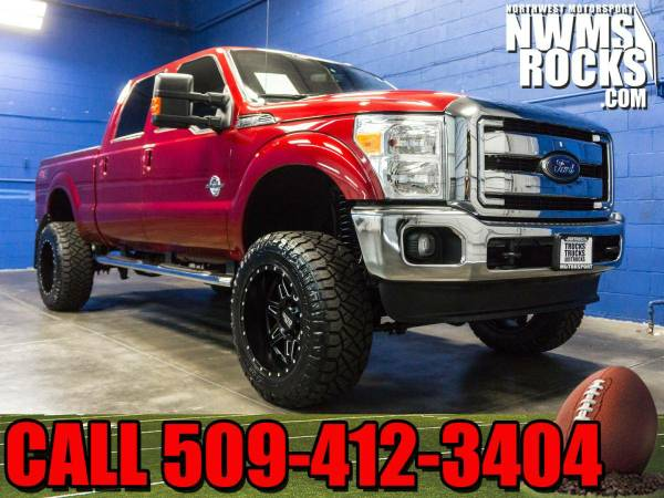 Lifted 2016 *Ford F250* Lariat 4x4 - Premium Wheels! 2016 Ford F-250 L