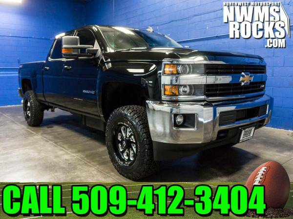 Lifted 2016 *Chevrolet Silverado* 2500HD LT 4x4 - DURAMAX! 2016 Chevro
