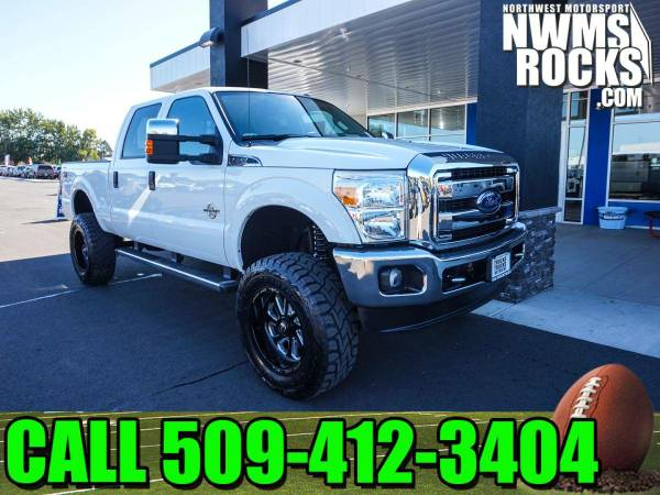 Lifted 2015 *Ford F250* XLT 4x4 -