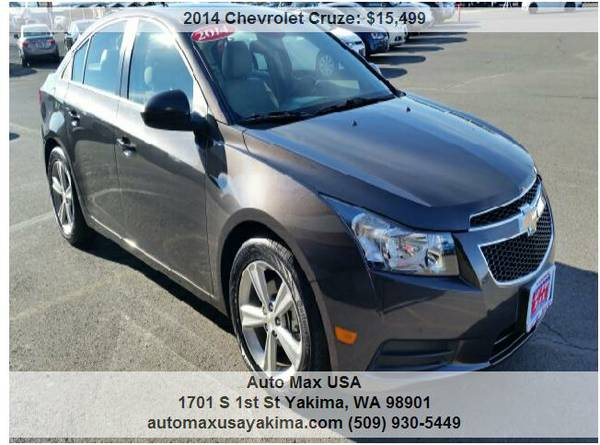 !!!2014 Chevrolet Cruze HAVE ONLY 3 LEFT AT THIS PRICE !!!!!!!!!!!!!!!