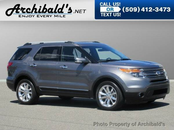 2014 Ford Explorer 4WD Limited SUV Explorer Ford