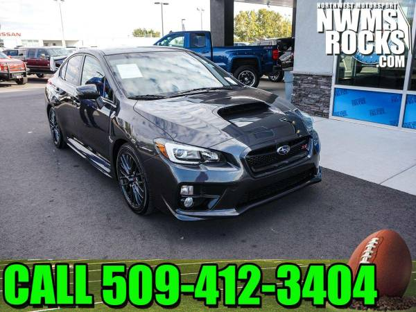 2015 *Subaru WRX* STi AWD - One Previous Owner! 2015 Subaru WRX STi AW