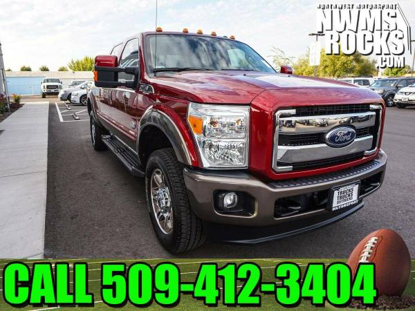 2016 *Ford F250* King Ranch 4x4 -