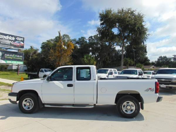 2004 Chevrolet Silverado Extended Cab 4X4 100% Financing Available