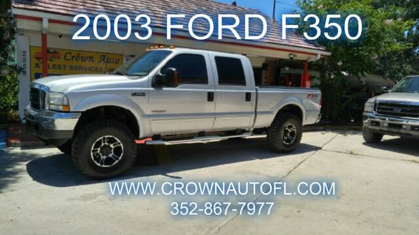 TRUCKS**FORD**F150**F250**F350**POWERSTROKE