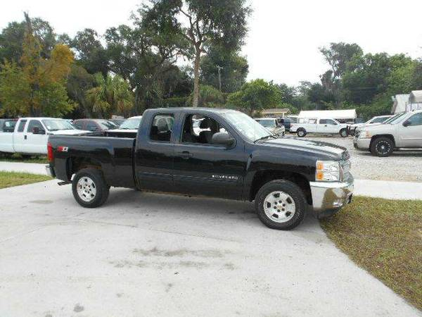 2012 Chevy Silverado LT X-Cab Z-71 4X4 100% Financing Available