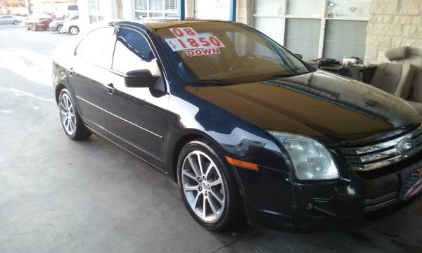 2008 FORD FUSION(1111 S.ZAPATA HWY)$3995