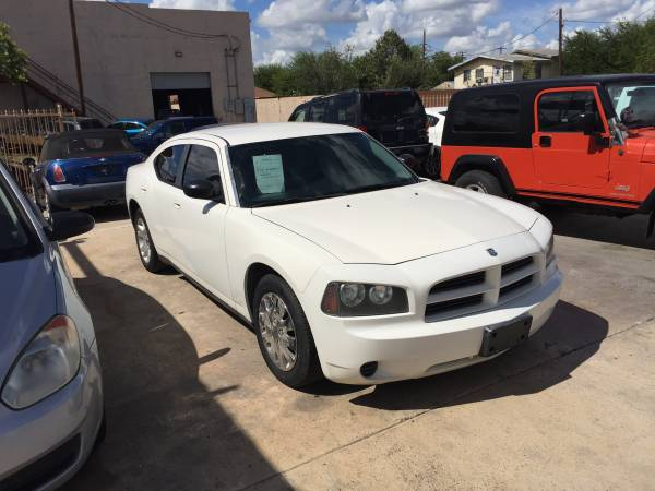 2007 Dodge Charger Automatic White