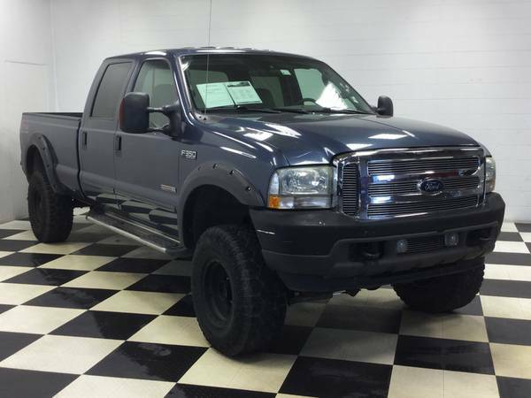 2004 FORD CREWCAB 4X4 DIESEL! LIFTED! WHEELS! BULLET PROOF-EGR DELETE!