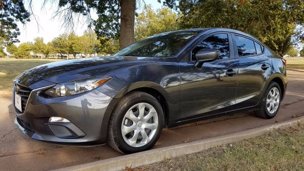 2015 MAZDA MAZDA3 SPORT SEDAN 2.0L AUTOMATIC ~~GAS SAVER~~!!!!!!!!!!!!