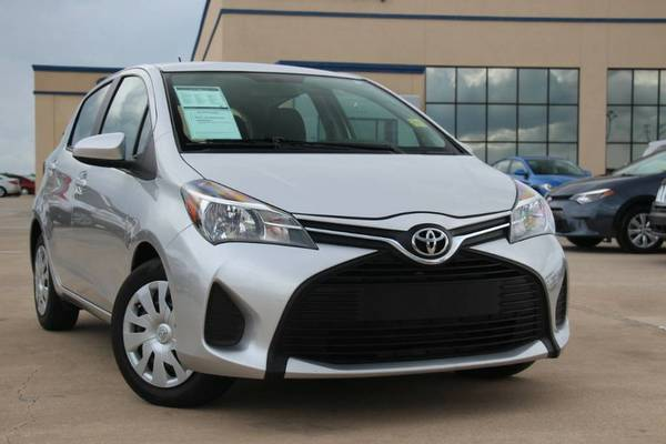 2015 TOYOTA YARIS LE! SUPER NICE & GAS SAVER! ONLY $157 A MONTH!