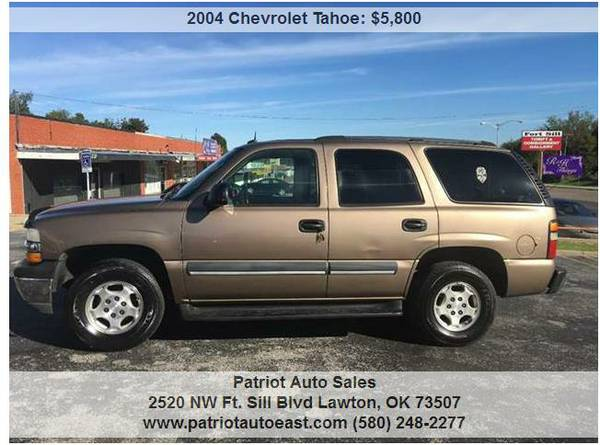 ----- 2004 CHEVROLET TAHOE LS w/ 3rd ROW SEATING! -----