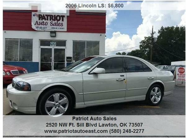 ----- 2006 LINCOLN LS-V8 ,,89,929 ACTUAL MILES! -----