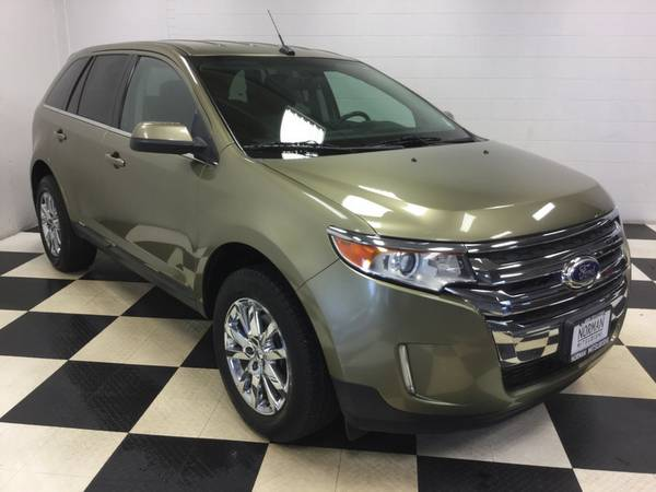 2013 FORD EDGE LIMITED EDITION! ONLY 40K MI! LTHR! BACK UP CAM! MINT!