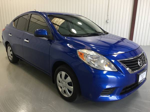 2014 NISSAN VERSA SV*LOADED*AUTOMATIC*PIONEER STERIO SYSTEM*TINT*BLUE!