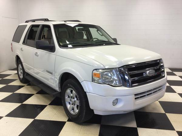 2008 FORD EXPEDITION 3RD ROW! OLDER MAN OWNED! LOADED! LOW MILES!!!
