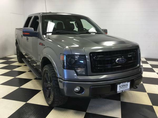 2013 FORD F-150 CREWCAB FX4 SPORT 4X4! LEATHER LOADED! 53K MILES!
