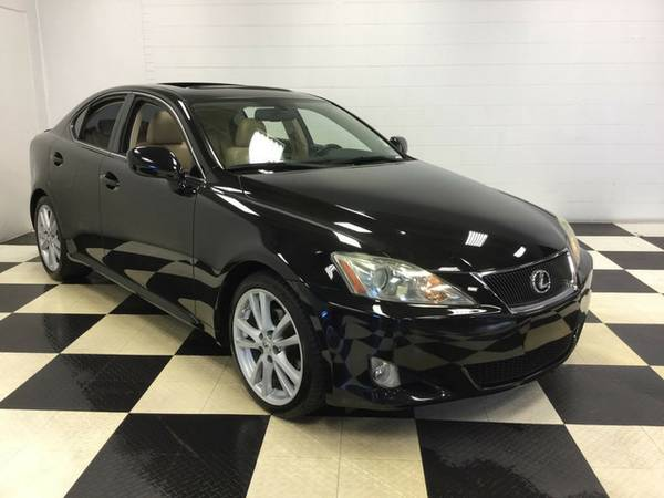 2007 LEXUS IS 250 LOADED LUXURY EQUIPPED SPORTY SUPER CLEAN! LOW PRICE
