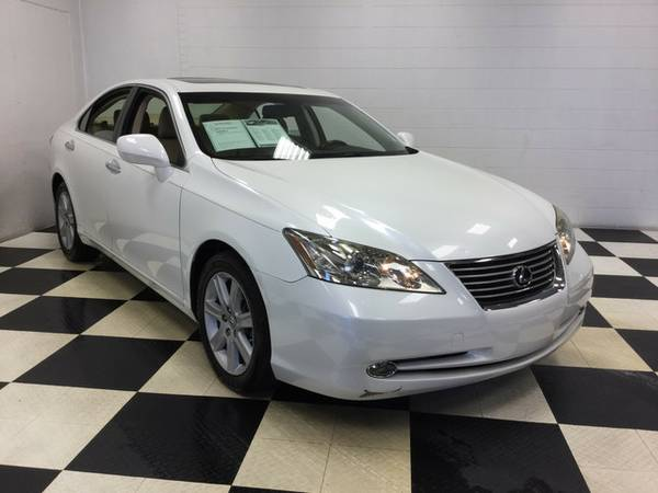 2007 LEXUS ES 350 LEATHER LOADED SUNROOF ONLY 70K MILES RARE TO FIND!