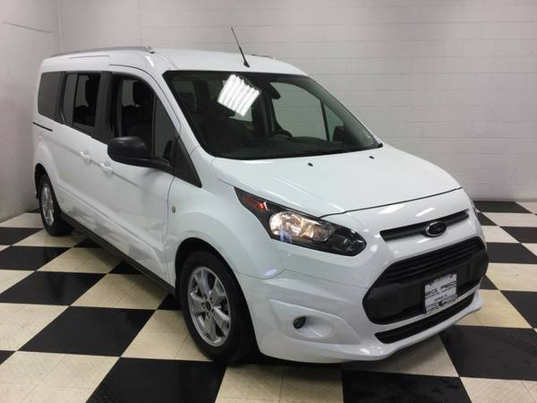 2014 FORD TRANSIT CONNECT WAGON XLT LOADED WITH EXTRAS! 4 ROWS!