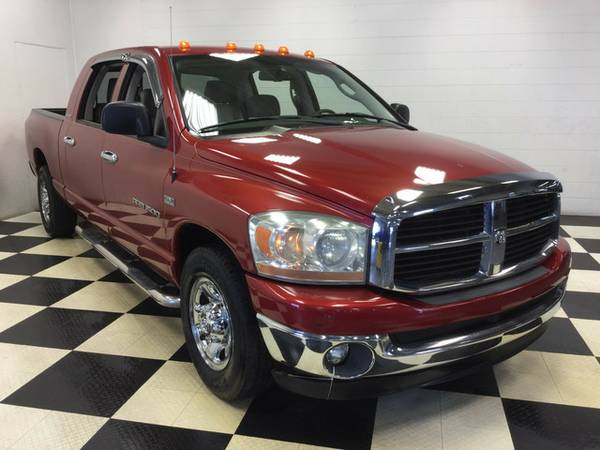 2006 DODGE RAM 1500 SLT 5.7 HEMI LARAMIE LEATHER DVD RUNNING BOARDS!!!