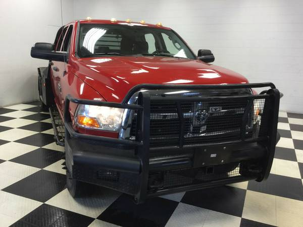 2011 RAM ST 4X4 TON OF EXTRAS FLAT BED GOTTA SEE!