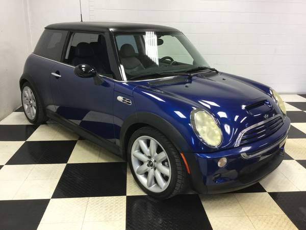 2003 MINI COOPER HARDTOP LEATHER LOADED ONLY 68K MILES! LOTS OF EXTRAS