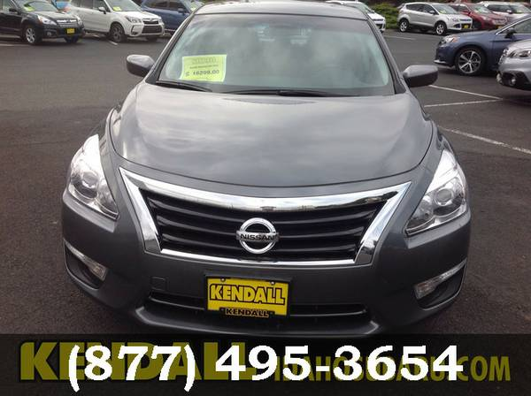 2015 Nissan Altima Gun Metallic FANTASTIC DEAL!