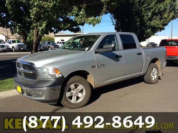 2013 Ram 1500 Bright Silver Metallic Sweet deal!!!!