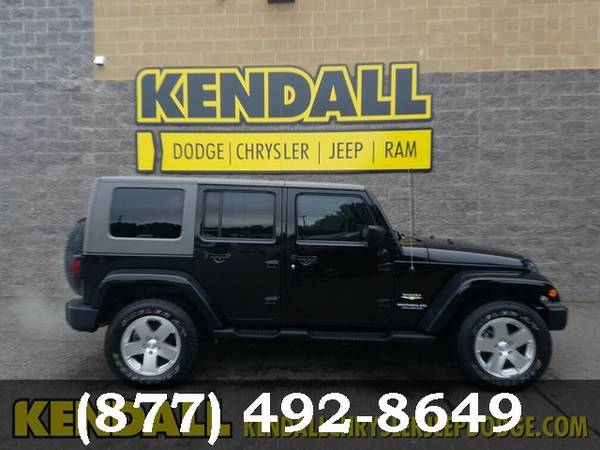 2009 Jeep Wrangler Unlimited Black Awesome value!