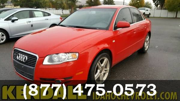 2007 Audi A4 RED GO FOR A TEST DRIVE!