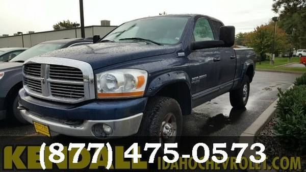 2006 Dodge Ram 2500 BLUE For Sale NOW!