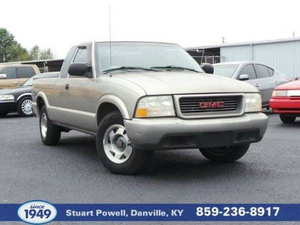 2000 GMC Sonoma 2 Door Extended Cab Short Bed Truck