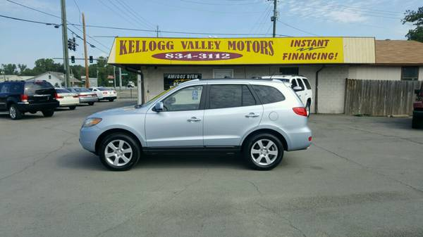 ** KVM ** 08 HYUNDAI SANTA FE*LIMITED* ROOF* LTHR* DVD* LIKE NEW!