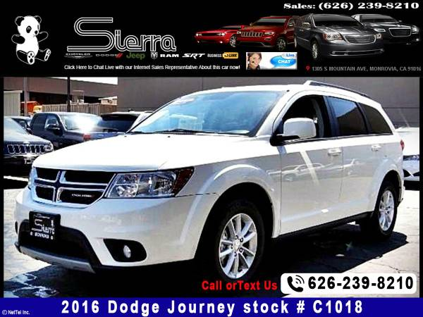*2016* *Dodge* *Journey* *SXT* *SUV*