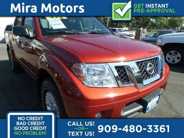 2014 Nissan Frontier SV 4D Crew Cab V6 4.0L 4x4 Truck Frontier Nissan