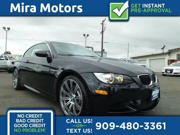 2011 BMW M3 Premium Pkg 2D Conv V8 4.0L Convertible M3 BMW