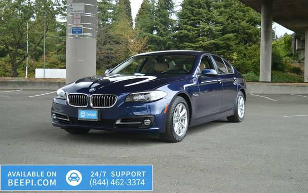 2016 *BMW* *5 Series* *4dr Sedan AWD* -$46,358