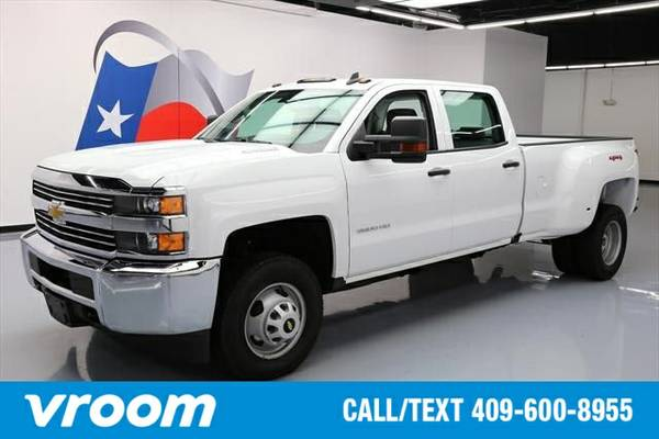 2016 Chevrolet Silverado 3500HD WT 7 DAY RETURN / 3000 CARS IN STOCK