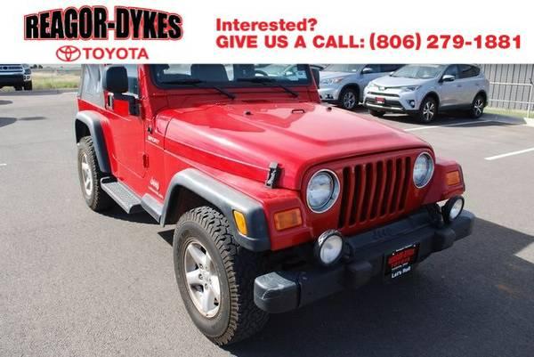 2004 Jeep Wrangler Sport SUV Wrangler Jeep