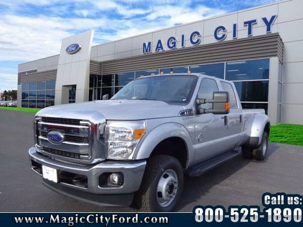 2016 *Ford F-350 Super Duty* XLT (Silver)