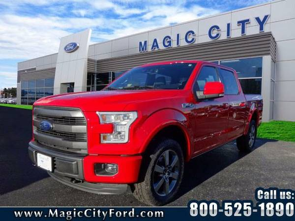 2015 *Ford F-150* Lariat (Red)