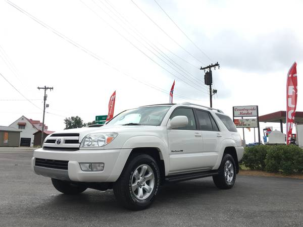 *One Owner 2004 Toyota 4-Runner Sport Edition 4x4 Clean w/Good Miles!