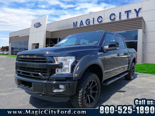 2016 *Ford F-150* Roush Supercharged 600hp (Black)